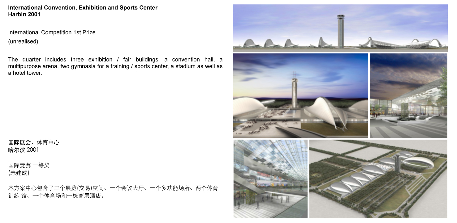 International Convention Exhibition and Sports Center Harbin CN 2001