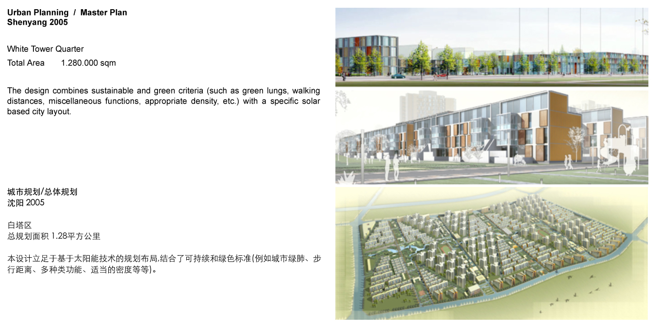 Urban Planning Master Plan Shenyang CN 2005