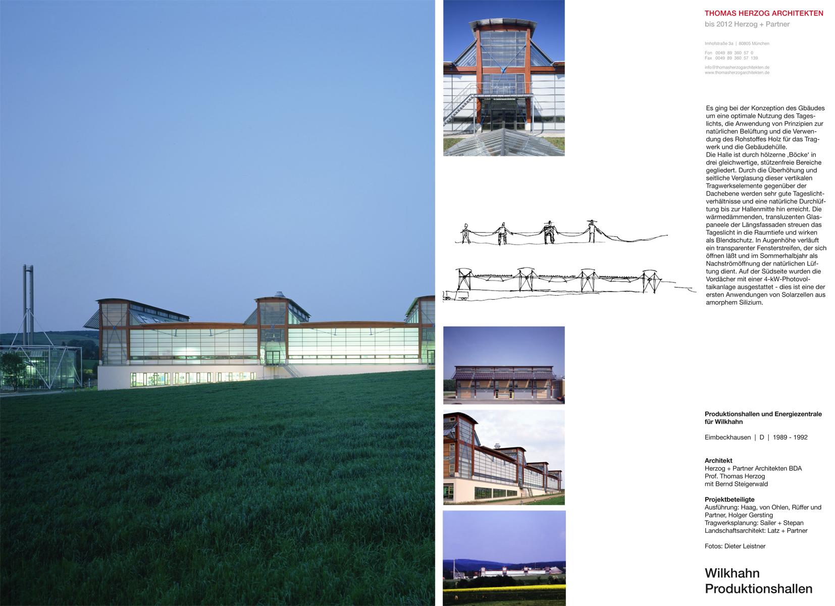 Wilkhahn Produktionshallen Eimbeckhausen DE 1992