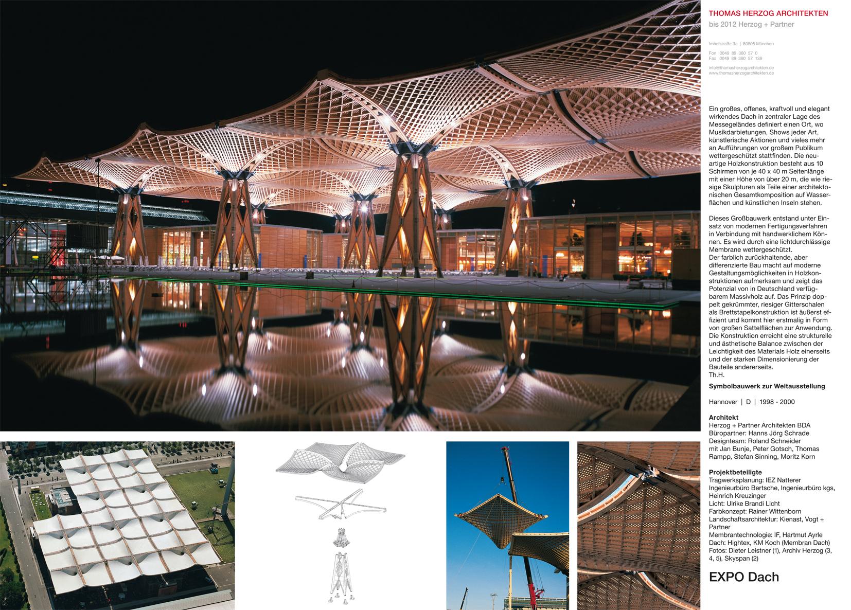 EXPO Dach Hannover DE 2000