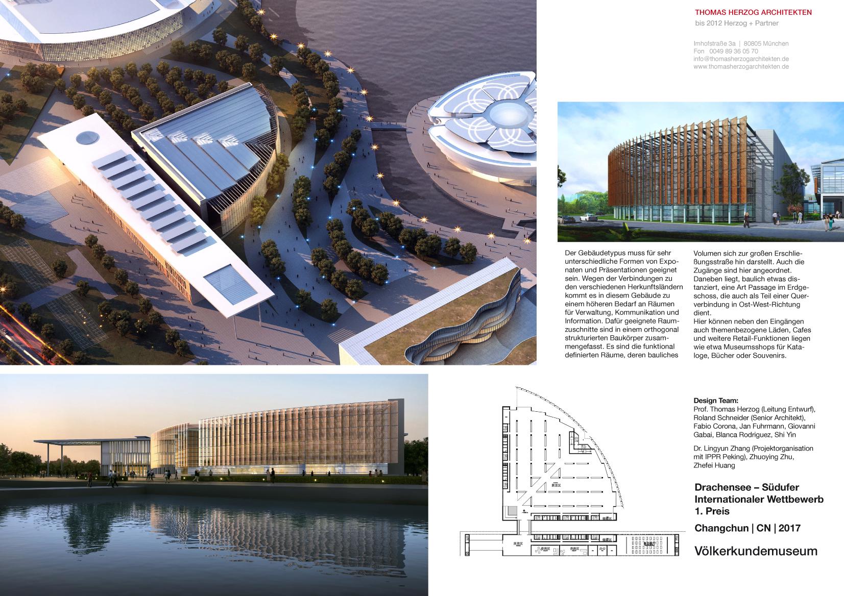 Völkerkunde Museum Changchun CN 2017 Internationaler Wettbewerb 1.Preis
