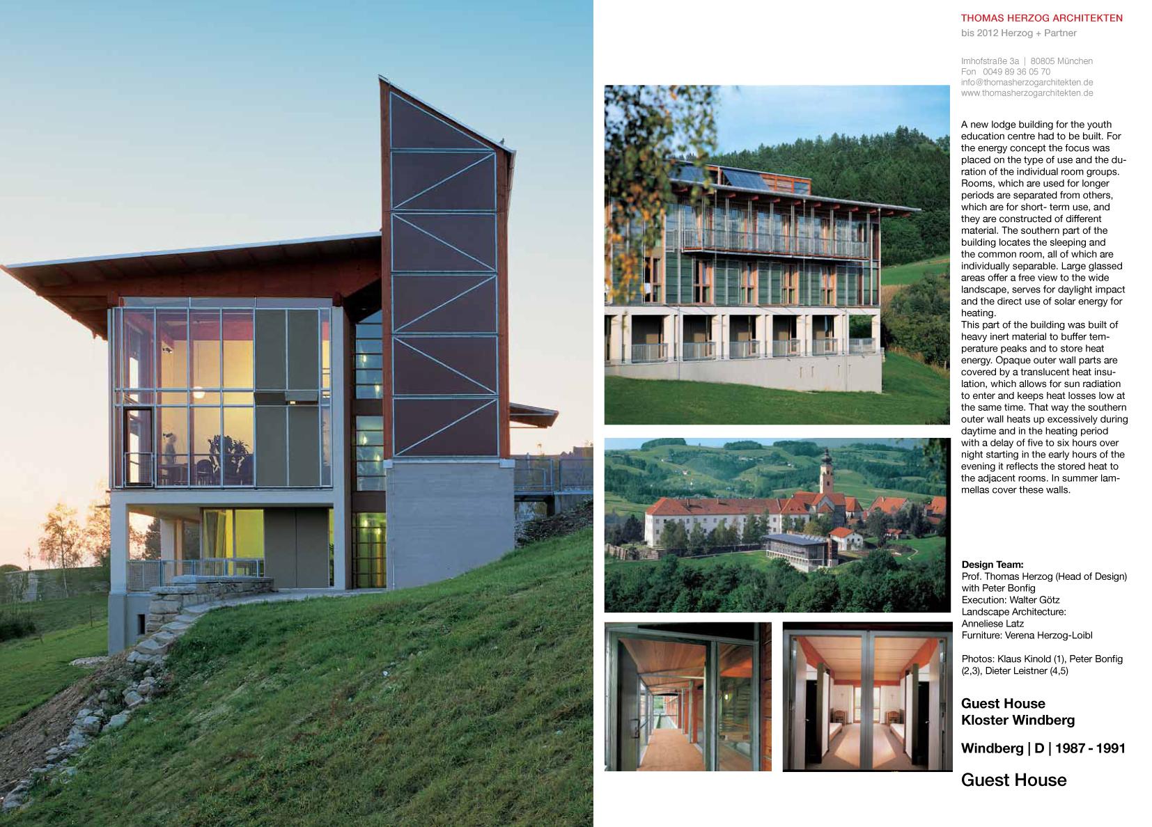 Guest House Kloster Windberg DE 1991